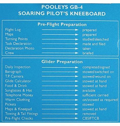 Planche de vol GB-4 - POOLEYS
