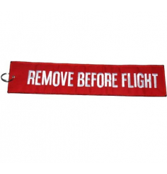 Porte-clés Remove Before Flight Extra-Large