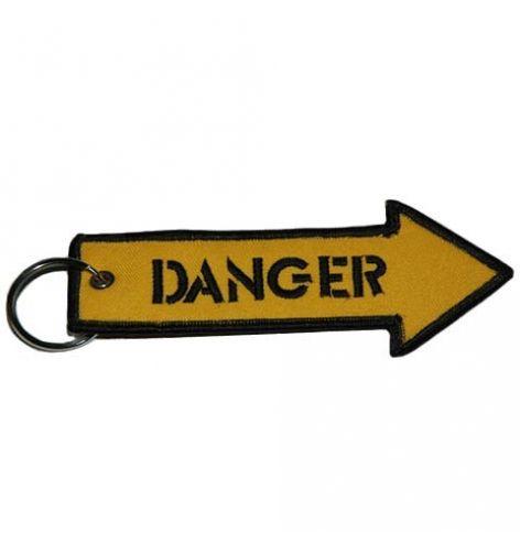 Porte-clés Danger