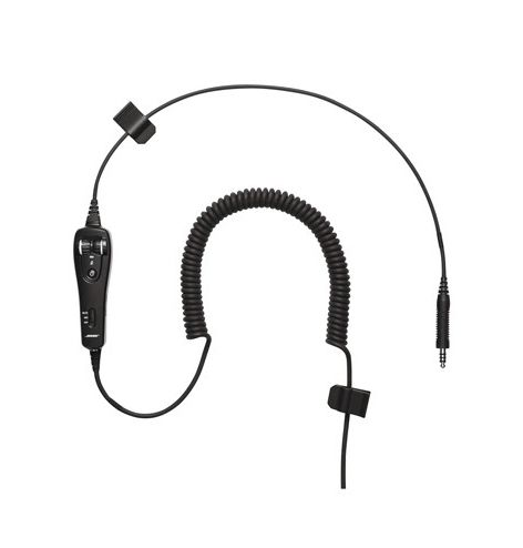 Câble de rechange pour Bose A20 - U/174  - basse impédance - câble torsadé - boitier de piles sans Bluetooth