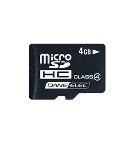 Carte mémoire Micro SD 4 Go