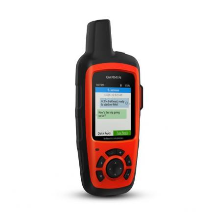 inReach Explorer®+ - Communication par satellite avec cartes et capteurs