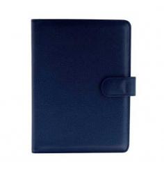 Protège carnet de vol Bleu marine