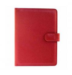 Protège carnet de vol Rouge
