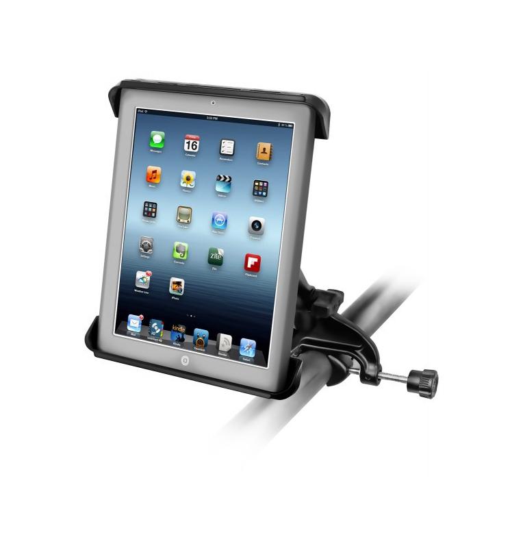 Support EZ-Roll'r™ pour Apple iPad mini 1-3 avec base étrier (yoke)