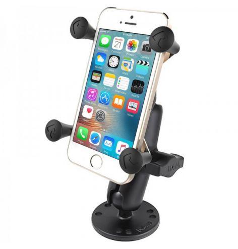 "Support universel X-Grip® UN7 pour smartphone  5"" base rond"