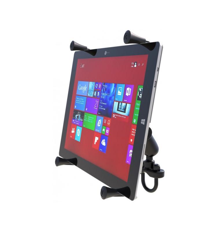 """Support de guidon avec berceau de smartphone X-Grip® universel UN10 entre 5 et 6"""""""