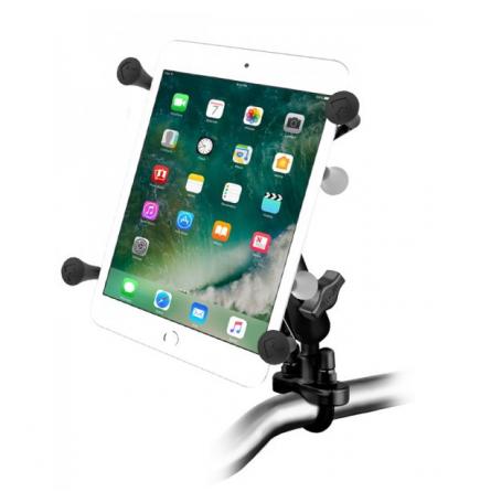 """Support de de guidon X-Grip® avec base en U pour tablettes de 7 à 8"""""""