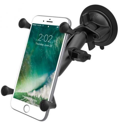 """Kit ventouse X-GRIP UN10 pour smartphone moins de 5"""""""