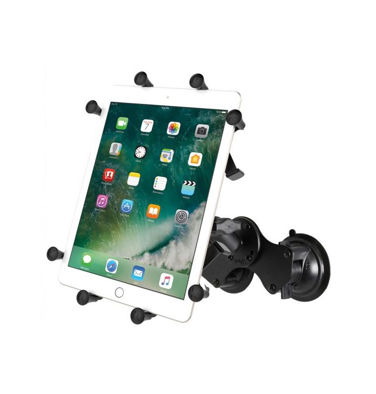 """Support double ventouse pour tablettes X-Grip® de 9 """"à 10"""