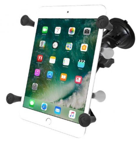"""Support à ventouse Twist-Lock™ avec berceau universel X-Grip® UN7 pour tablettes de 7"""" à 8"""""""