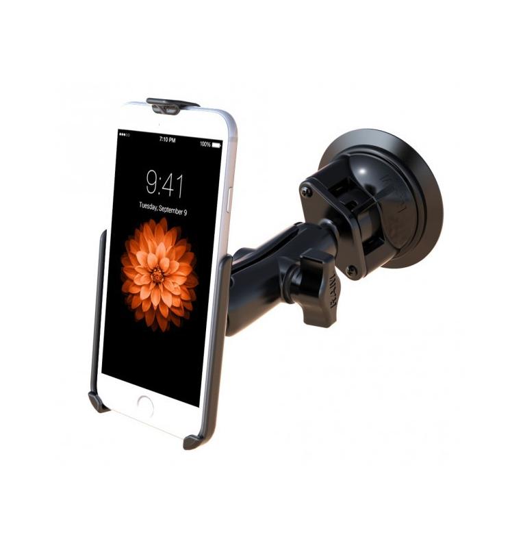 Support à ventouse Twist-Lock™ pour Apple iPhone 6 & 7 sans coque ou protection