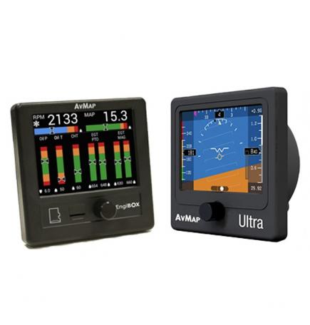 Kit EFIS et  EMS Engibox Avmap