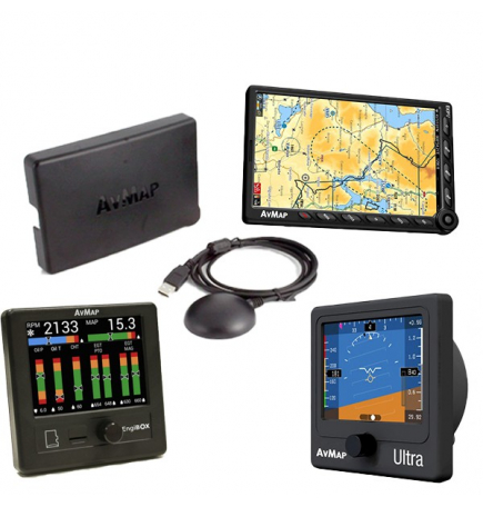 Kit Avmap : système d'avionique complet