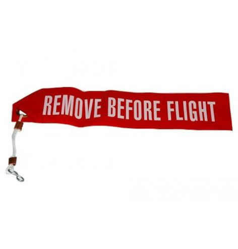 Flamme remove before flight...