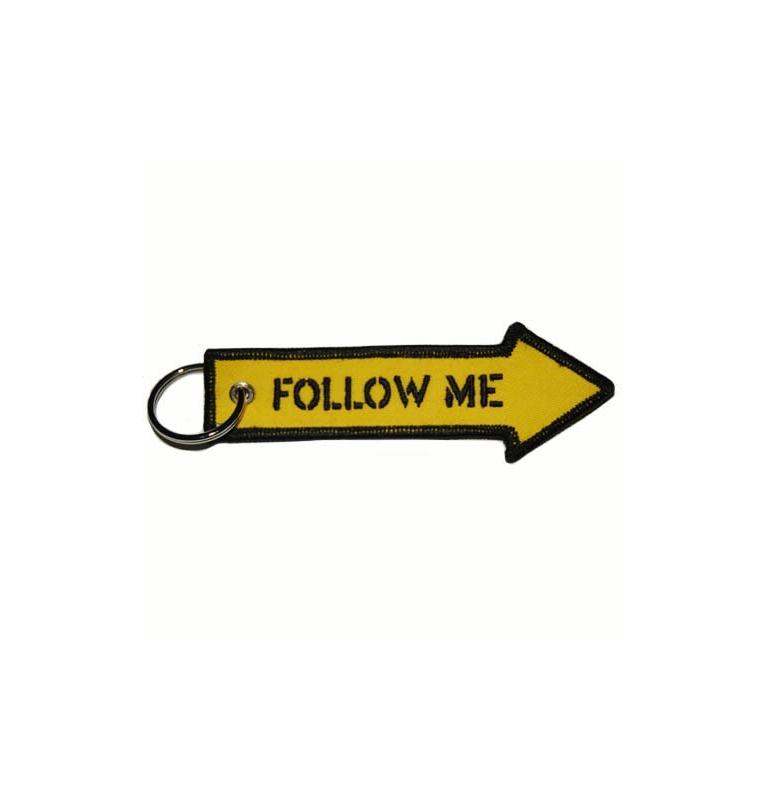 Porte-clés Follow me