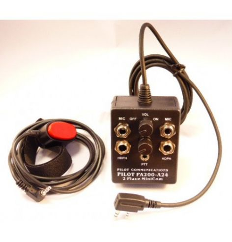 Pilot Communications Intercoms portatifs aviation compatible IC-A24 et IC-A6