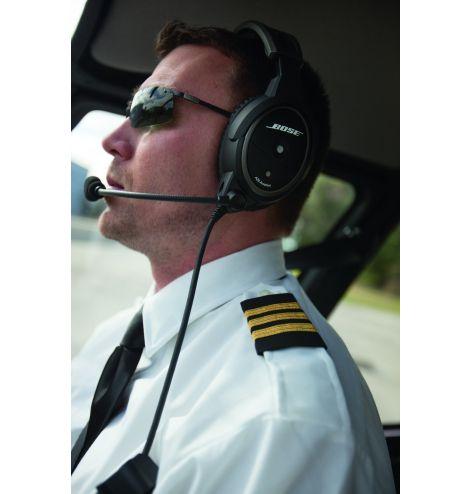 BOSE A20 ANR boîtier piles - double jacks avion sans Bluetooth haute impédance