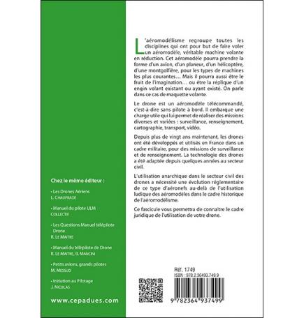 Réglementation du pilotage de drones (6e édition)