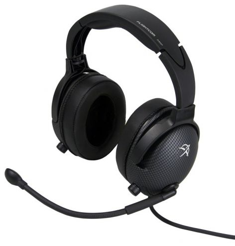 Casque Flightcom D30SP : double jack aviation - passif - câble droit - sacoche
