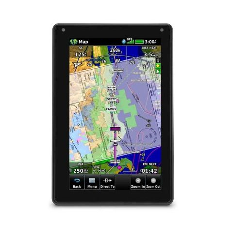 GPS portable aviation Garmin Aera 760