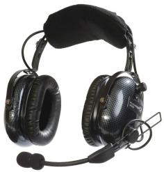 Casque Flightcom V70SP : double jack aviation - mono/stéréo - passif - câble droit - sacoche