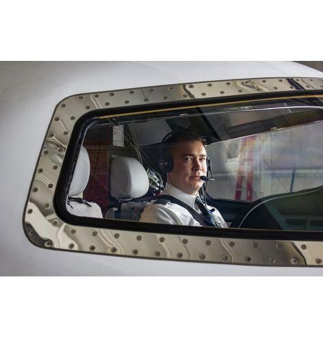 Casque Telex Airman 8 + cockpit
