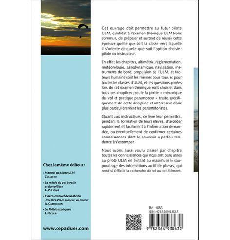 LA MAÎTRISE DU PARAMOTEUR 6e édition préface