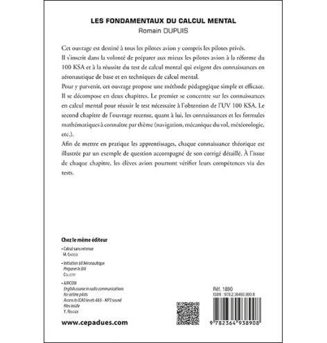 Les fondamentaux du calcul mental, Romain Dupuis
