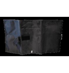 Pochette porte documents 3 volets Noir