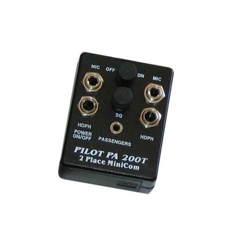 Pilot Communications Intercom portatif aviation PA200T