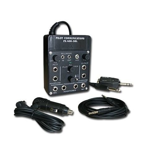 Pilot Communications Intercom portable pour 4 casques
