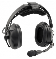 DNC Headset with Integral Battery Cell Phone / Music Input
