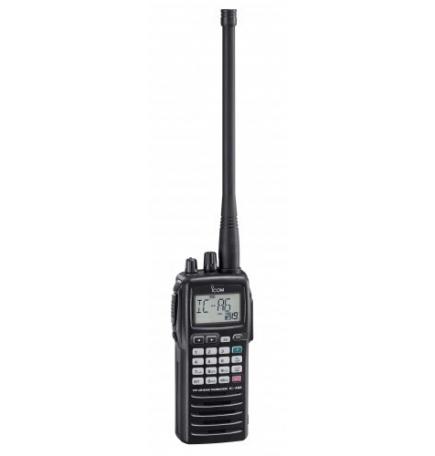 ICOM IC-A6FRII- VHF agréé DGAC pour une utilisation embarquée