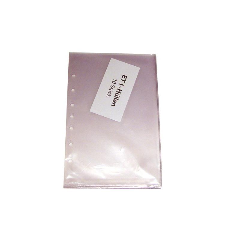Lot de pochettes transparentes pour log de nav / cartes VAC