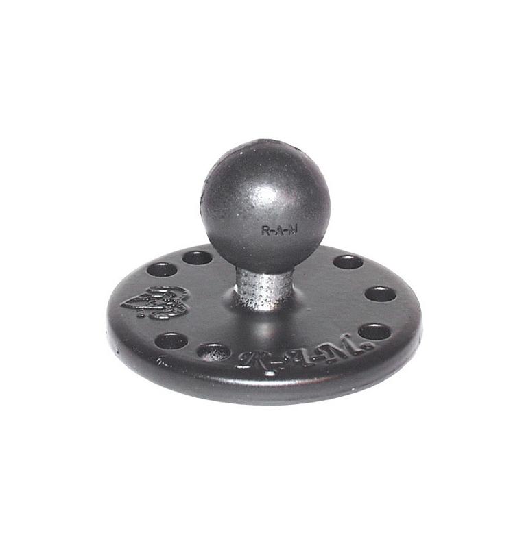 """Base Ronde Avec Boule B (Standard) Diametre 2,5 Cm (1"""")"""