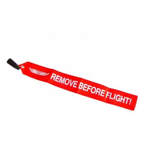 Flamme remove before flight pour pitot type Piper