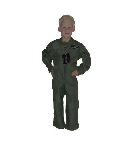 Combinaison de vol cwu-27 enfant verte armée