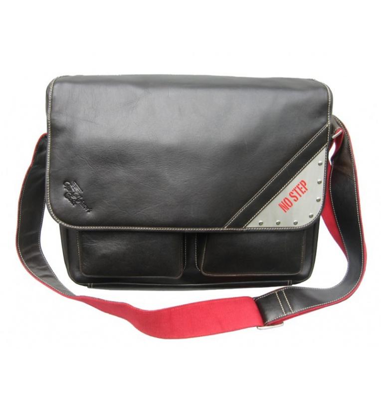 Sacoche en cuir Wingbag Noir