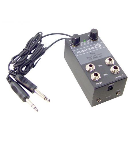 Flightcom Intercom IISX 2 Places