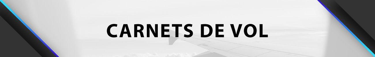 Carnets de vol et pochettes