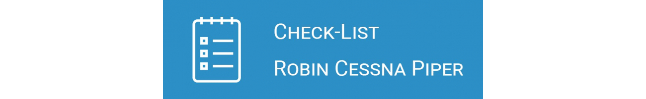 Check-List Robin Cessna Piper