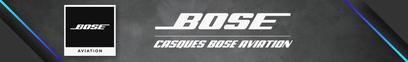 Casques Bose Aviation