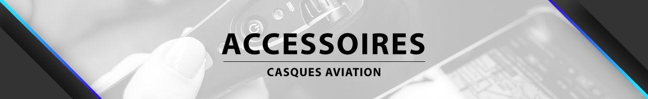 Accessoires Casques Avion