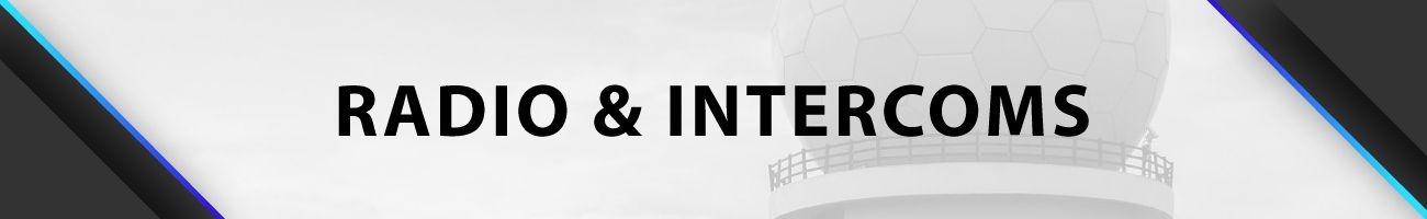 Accessoires Radios et Intercoms