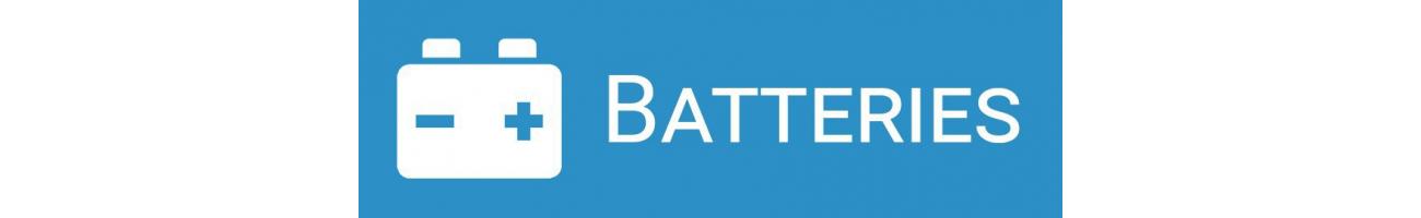 Batteries & panneaux solaires