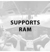 Supports RAM
