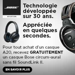 BOSE AVIATION Promo Automne