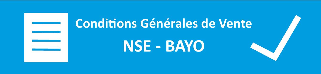 Conditions Générales de Vente NSE Bayo