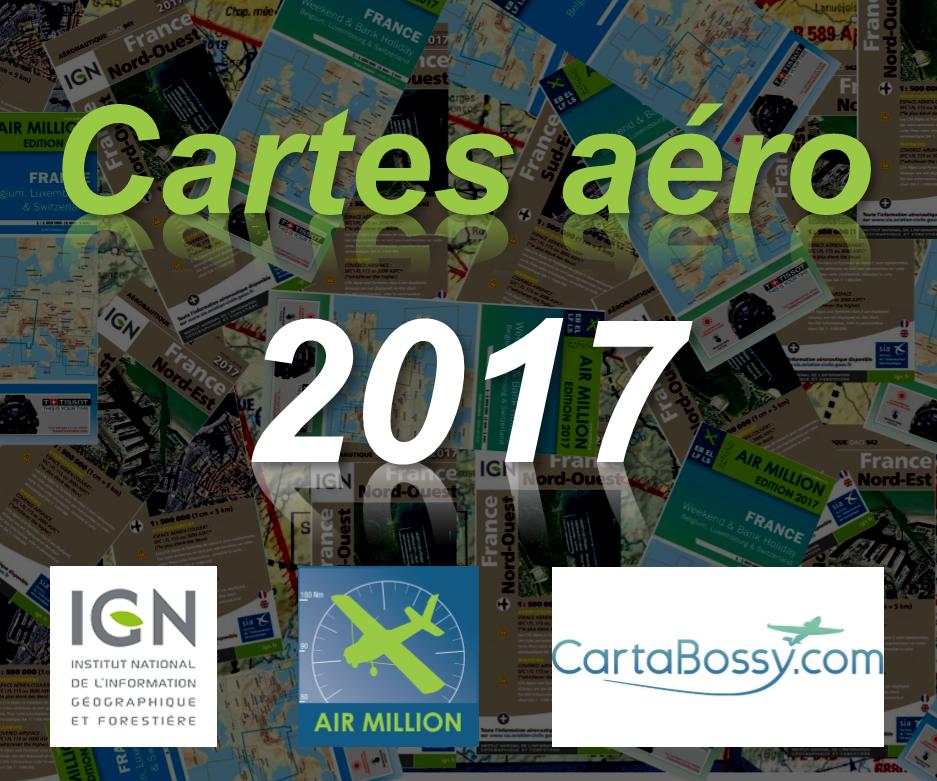 Cartes aéronautiques pilote édition 2017